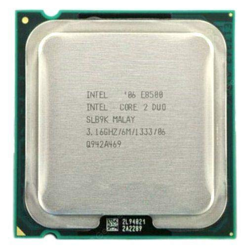 Intel Core 2 Duo E8500 SLB9K (9G) - Procesador de 3,16GHz, caché de 6MB, FSB de 1333MHz, no incluye ventilador