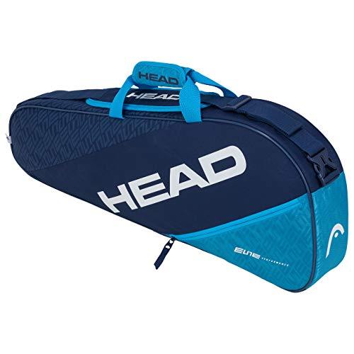 HEAD Elite 3R Pro Sac de Raquette de T Adulte Unisexe, Navy/Blue, Taille Unique