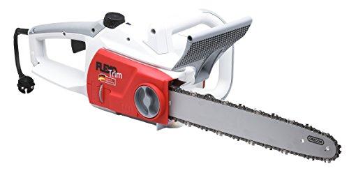 IKRA FlexoTrim KSE 2540 LA elektrische kettingzaag, zwaardlengte 40 cm, krachtig 2500 watt, met instelbare oliepomp, verlicht oliepraam en overbelastingsindicator