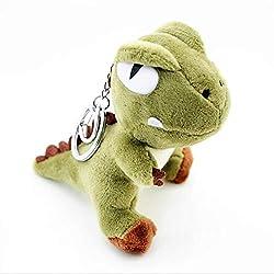 6. Ruzucoda Plush Dinosaur Keychain Stuffed
