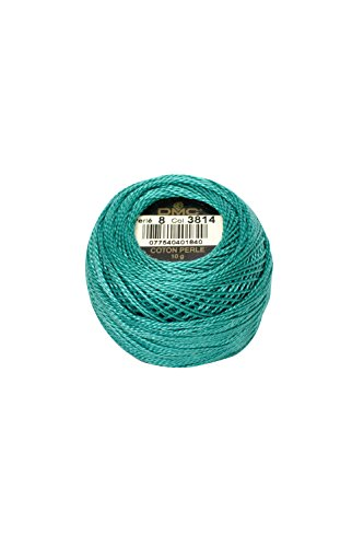 DMC 116 8-310 Pearl Cotton Thread Balls, Black, Size 8