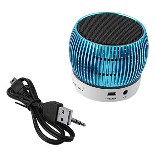 Mini Altavoz inalámbrico estéreo Bluetooth portátil TF para teléfono Celular Tablet PC ➤ HibiscusElla