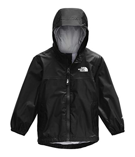 The North Face Toddler Zipline Rain Jacket, TNF Black, 6T