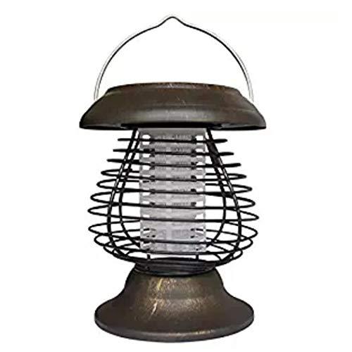 Mosquito asesinoUSB Mosquito RepelSentsolar Powered UV LED Bug Zapper & Lantern - Insecto Killer Lamp Bug Zapper - Mosquito Trampa Mosquito Killer para Puertos de po White