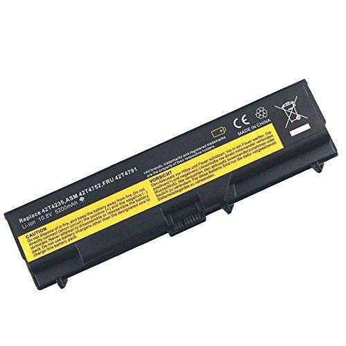 New Laptop Battery for IBM Lenovo ThinkPad e40 T410 T420 T510 T520 SL410 42T4752 Li-ion 6 Cell 10.8v 5200mAh/56wh Bay Valley Parts