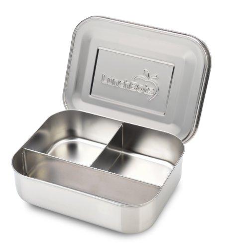 Metallbox Lunchbox als Teebox mit 3 Fächern