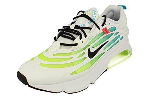 Nike Air MAX Exosense Hombre Running Trainers CV3016 Sneakers Zapatos (UK 6 US 6.5 EU 39, White Black Volt Blue 100)