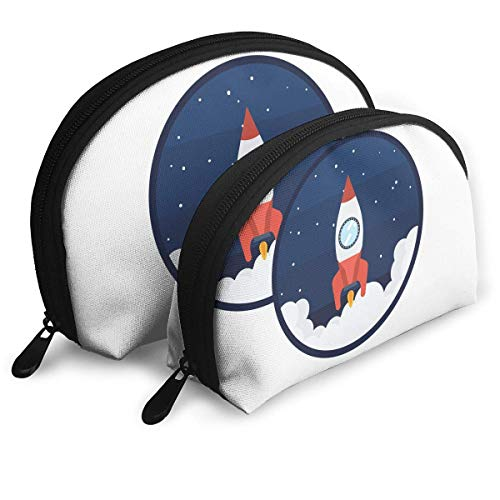 XCNGG Storage bag Spacecraft Love Portable Travel Makeup Handbag Waterproof Toiletry Organizer Storage Bags