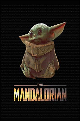 Baby Yoda Notebook: Fivestar notebooks- baby yoda notebook -baby yoda mandalorian- baby yoda calendar- baby yoda gifts- 110 pages, 6 x 9 - Soft Cover, Matte Finish