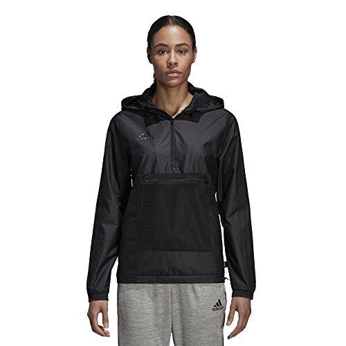 adidas Soccer Tango Windbreaker, Black, Medium