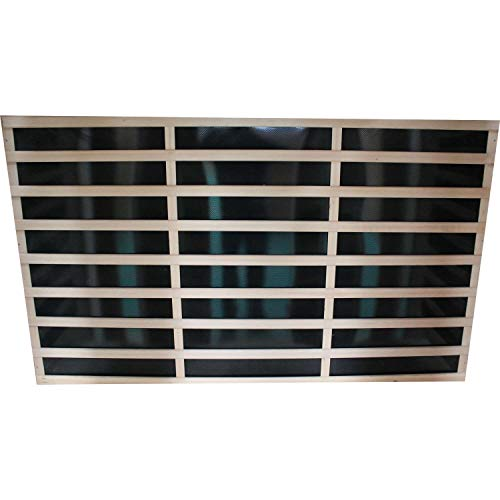 Carbonstrahler 40x100cm 300 Watt Infrarotstrahler Strahler Heizstrahler Infrarotkabine