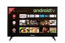 Telefunken XH24AJ600V 24 Zoll Fernseher / Android TV (HD ready, HDR, Triple-Tuner, 12 Volt, Smart TV, Play Store, Google Assistant, Bluetooth) [Modelljahr 2021]©Amazon