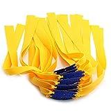 DZS Elec 24pcs Folding Yellow Flat Elastic...