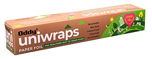 Oddy Uniwraps Food Wrapping Paper, 278 mm x 20 m, White