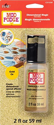 Mod Podge Glitter Dimensional Magic, 2 oz, Gold