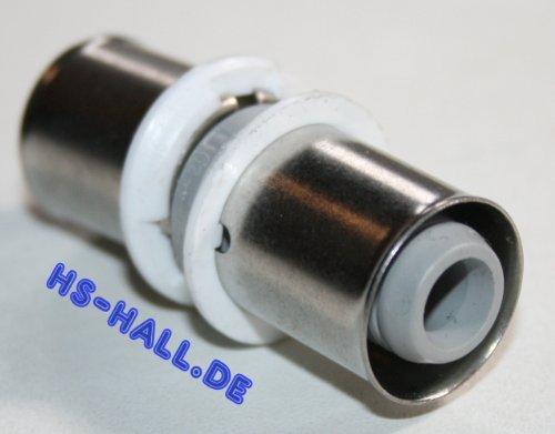 Uponor Verbund Press-Kupplung Muffe MLC 16 Kunststoff PPSU