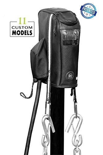 Clever Cover for Barker Jack by Trailersphere Custom Electric Tongue Jack Cover for Trailer, RV, Camper, Chains Holder, Plug Protector, Sun and Waterproof (Barker Jack Cover) -  Trailersphere Corporation, 0149.6520