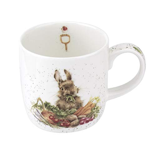 Royal Worcester Wrendale Designs Grow Your Own 0,3 l Kaninchen Tasse