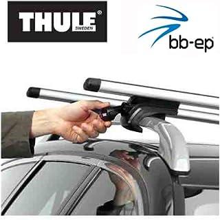 Thule 90107705 Premium Aluminium Dachträger Set mit neuer WingBar Traverse