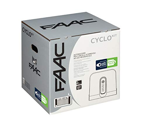 Safe&Green - Kit de Bicicleta de 24 V para automatización de la Puerta