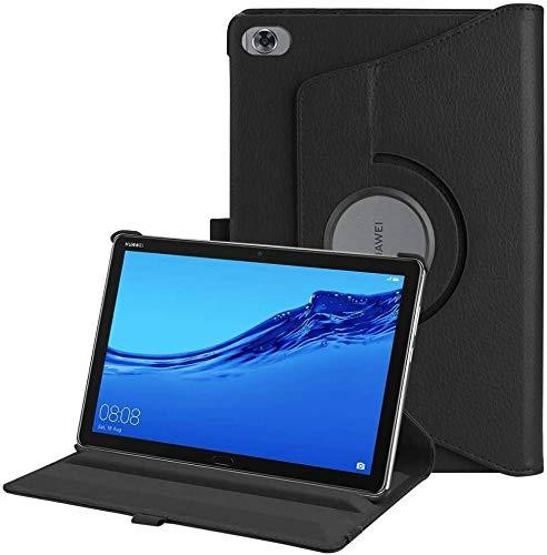 """BNBUKLTD® Housse de support pour Huawei MediaPad M5 Lite Rotation 360 ° 10,1"""""""