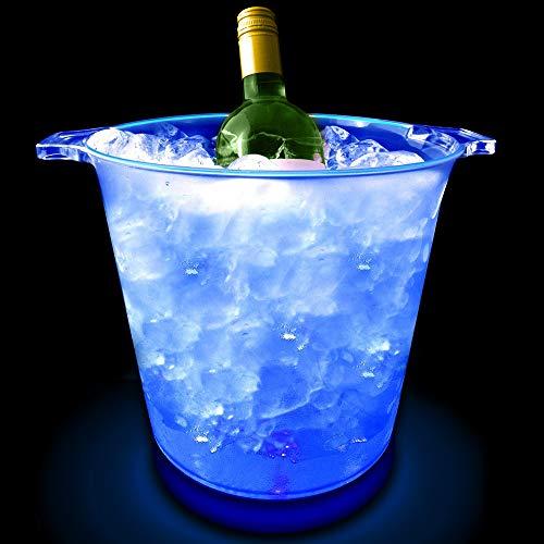 Azul Fresco LED Cubo De Hielo
