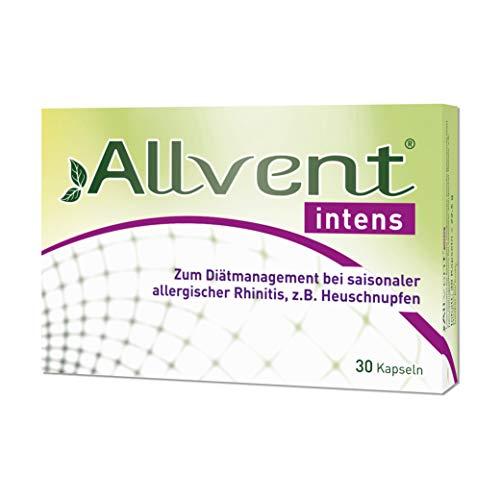 Allvent intens Kapseln bei saisonaler allergischer Rhinitis, z.B. Heuschnupfen – 30 Kapseln