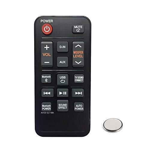 Mando Distancia para Samsung AH59-02710A HW-JM25 HW-J250 Barra de Sonido