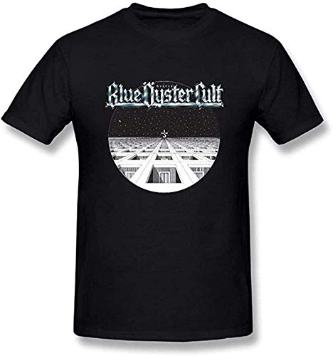 Blue Oyster Cult Logo - Camiseta de manga corta para hombre, color negro