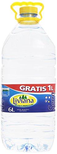 Liviana - Agua Mineral Natural - 6 l