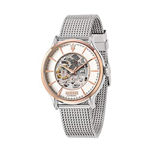 Herrenuhr, Kollektion Epoca, Automatik-Uhrwerk, nur mit Zeitanzeige, aus Edelstahl - R8823118004