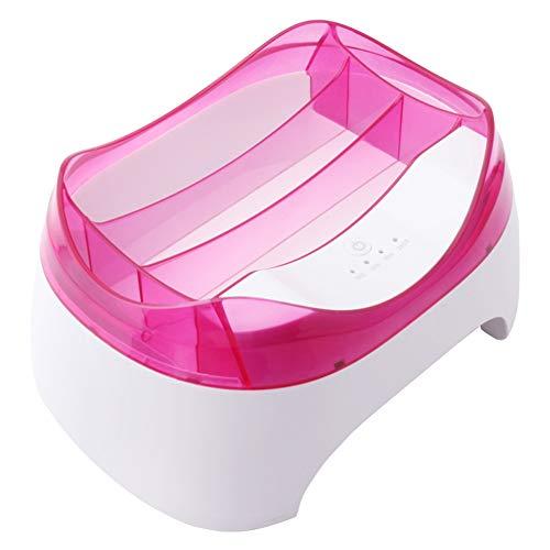 QWER Secador de uñas Inteligente fototerapia Fumar en Todo-en-uno 36w de Varias etapas de temporización 20 Cuentas de la lámpara,Rosado