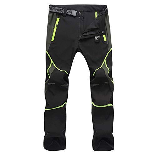 Freiesoldaten de los Hombres Exterior Pantalones de Senderismo Hidrófugo Respirable Secado Rápido Escalada Pantalones de Ciclismo