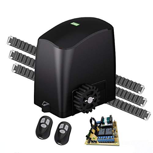 Kit Motor Portão Eletrônico Deslizante Rcg Slider-PL Slim 1/5 300 kg 220V