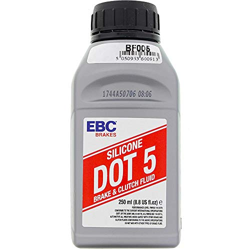 EBC-Brakes BF005 Brake Fluid - Dot 5 Silicone (AVAIL. IN SIX PACK ONLY)