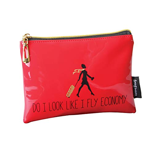 Trousse de maquillage originale « DO I LOOK LIKE A FLY ECONOMY » par FMG RED