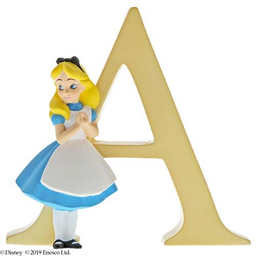Incantevole statuetta della collezione Disney, lettera A, multicolore, taglia unica