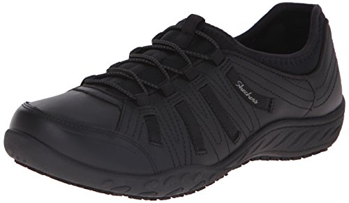 Skechers for Work Women's Bungee Slip Resistant Lace-Up...