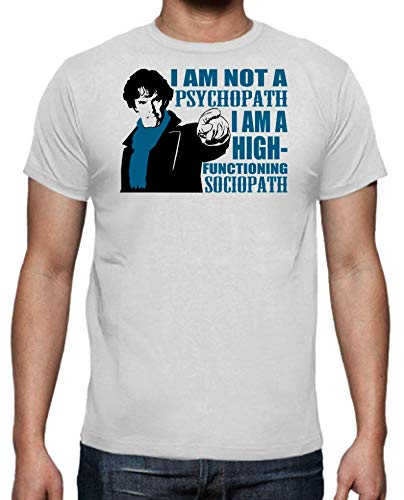 The Fan Tee Camiseta de Hombre Sherlock Watson Detectives Series...