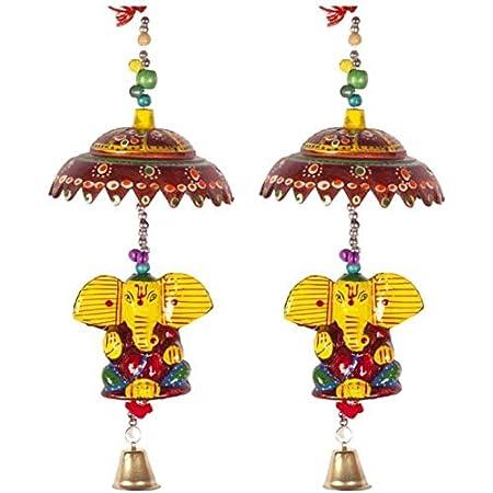 Fashion Bizz Decorative Ganesha Door Hangings Wall Art for Main Door/Living Room, Home Decor