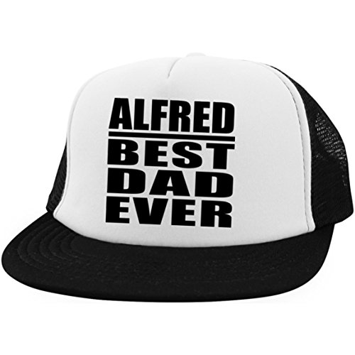 Designsify Alfred Best Dad Ever - Trucker Hat Visera, Gorra de Béisbol/Golf...