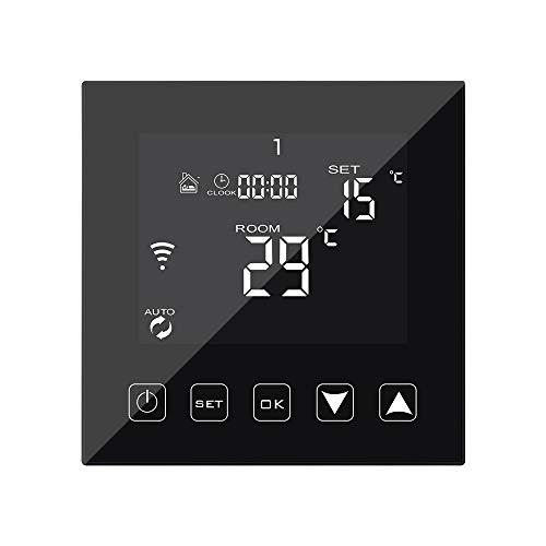 KETOTEK Intelligente Termostato WiFi para Caldaia a Gas/Acqua 3A...