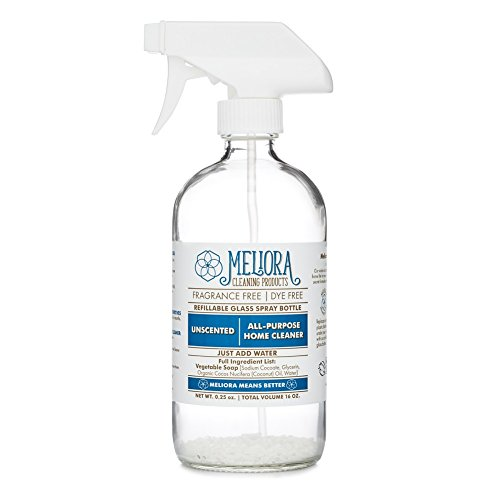 Meliora Cleaning Products All-Purpose Home Cleaner in - Refillable 16 oz. Glass Bottle