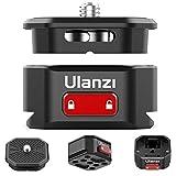 【2020 Ulanzi Claw クイックリリースクランプ Arca付き 三脚/ボールヘッド/雲台などに対応 脚一脚、DSLR、MILC、DC、スタビライザー、三脚、写真などに対応