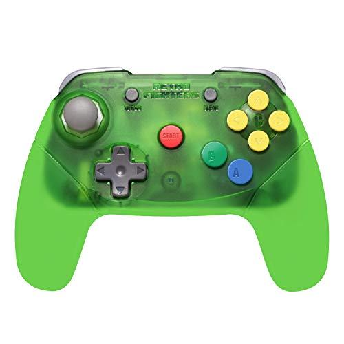 Retro Fighters Brawler64 Wireless Edition N64 Controller - Nintendo 64 - Green