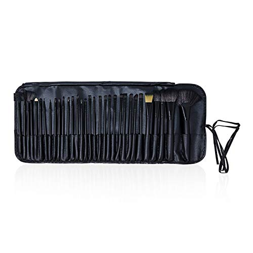 32 Piece Professional Make-Up Brush Set with Travel Case