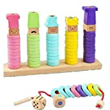 Smiim 積み木 リング つみき 知育玩具