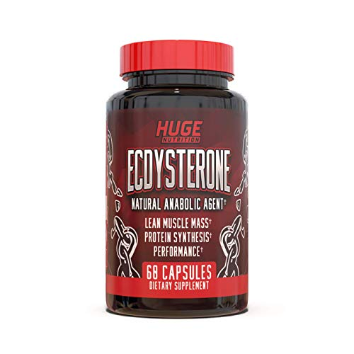 Huge Nutrition - Ecdysterone Supplement - Natural Anabolic Supplement - Enhanced Absorption Formula