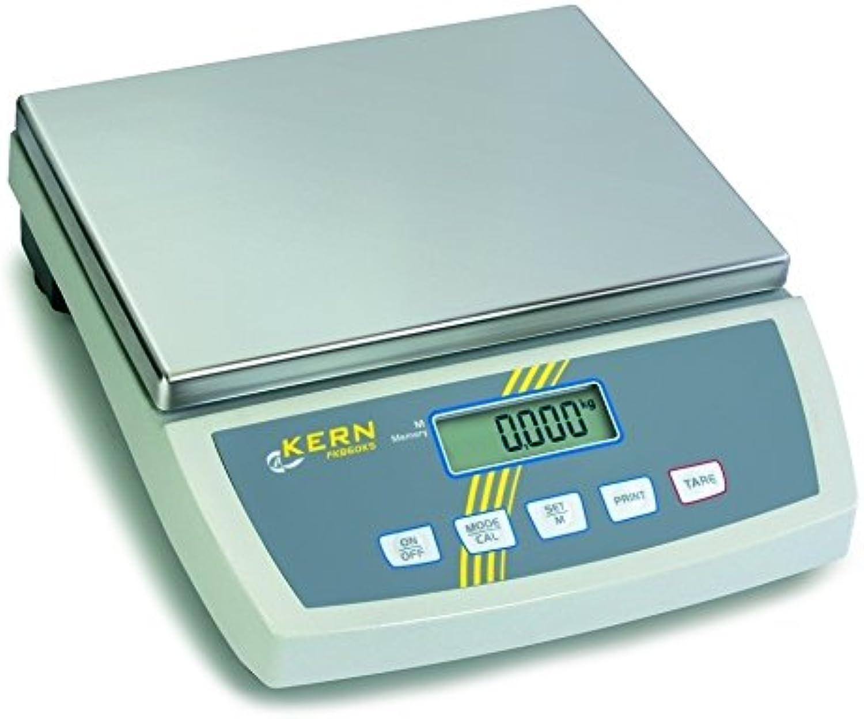 Kern & Sohn  wimf15 K Zahlungsbilanz Tisch fkb-a, Bereich-Wägezelle 15 kg, Einteilung 1 g, Linearität (G)  ± 2, 340 mm x 240 mm Plattform B0052WHR98 | Attraktive Mode