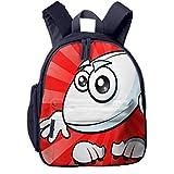 Sac à Dos Enfant Garderie Maternelle Sac Creche Sac Animaux École Mignon pour Bébé Fille Garçon Ballon de Rugby Cool